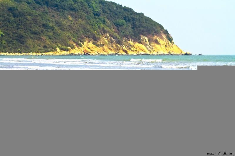 珠海免费旅游景点大全-滩 金沙滩 珠海的金海滩以沙质细腻,海水清澈